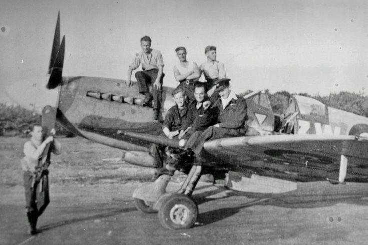 Supermarine Spitfire Mk.XIV,  No. 322 (Dutch) Squadron RAF, 1944