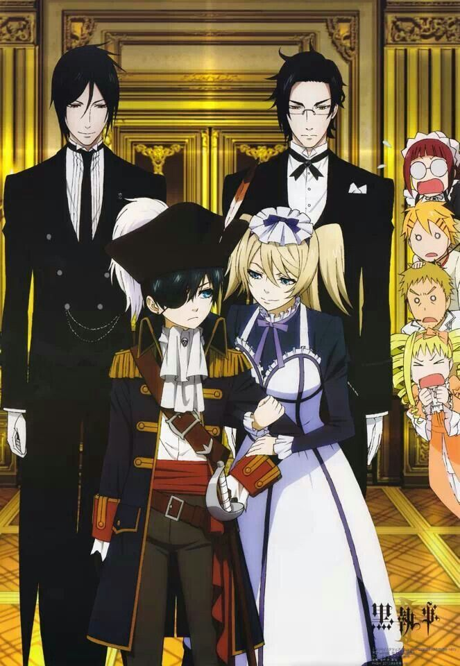 Black butler somehow Alois pulls it off O.o