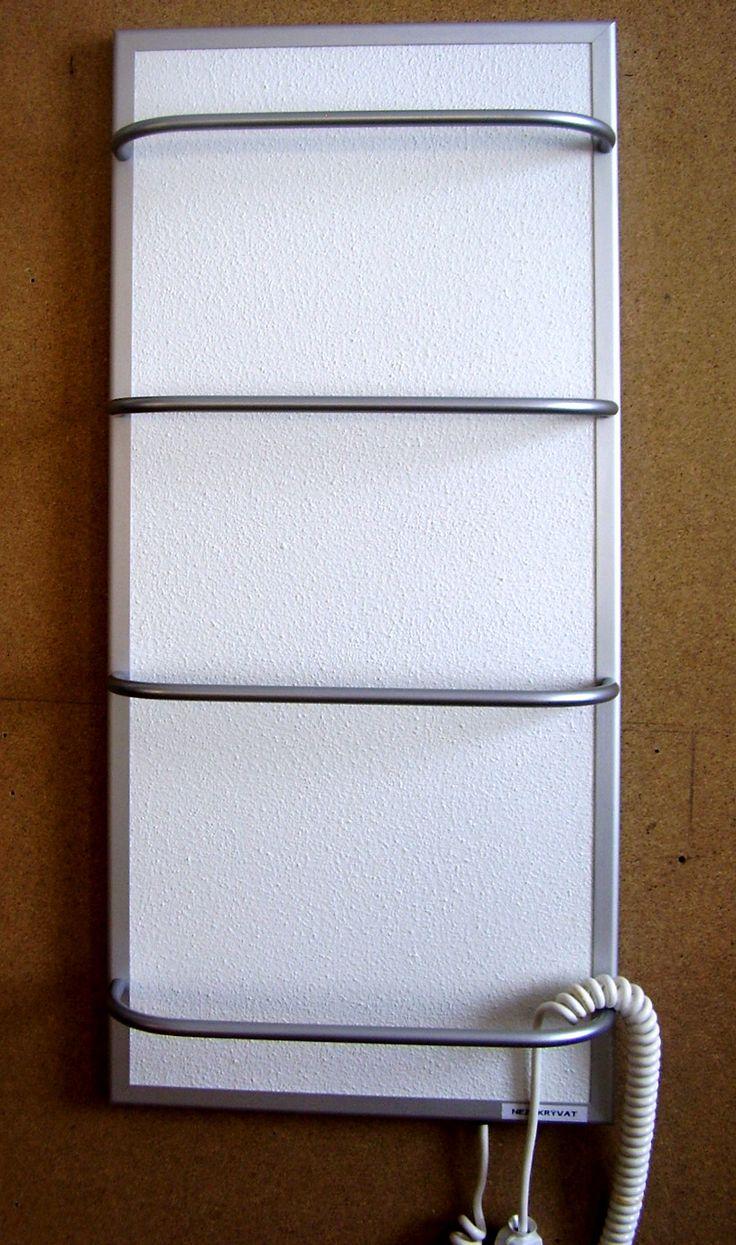 Törölköző szárítós infrapanel termosztáttal G-OLD 200tsr és infrafűtés