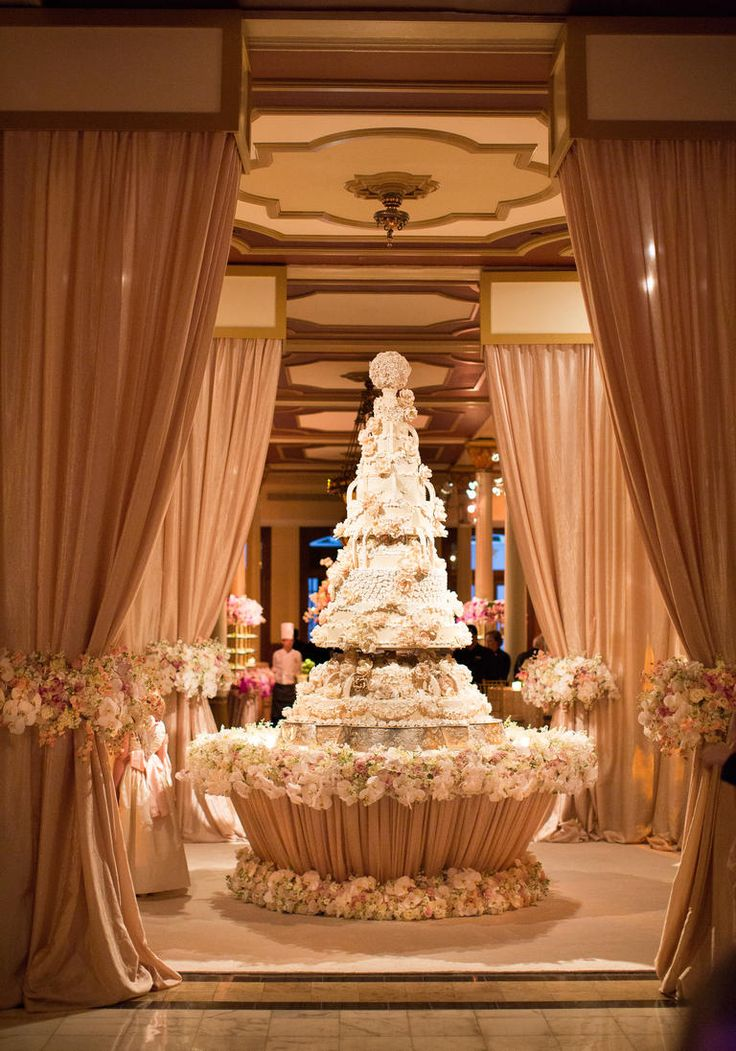 1231 best wedding ideas images on pinterest harvest for Wedding cake table decorations