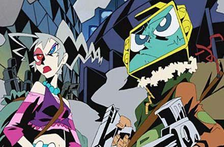 Dead Leaves (デッド リーブス Deddo Rībusu?) is a 2004 Japanese anime science fiction film