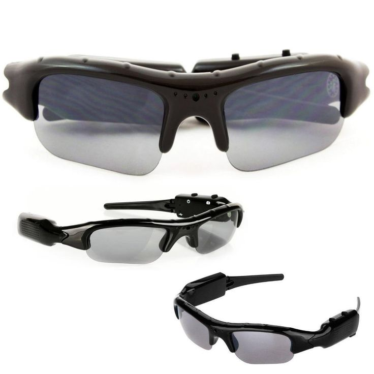 SpyCrushers Spy Video Glasses & Camera Glasses, Best Wireless Hidden Camera and Recording Sunglasses Available, Features Video Recorder, Photo & PC Webcam, Satisfaction Guaranteepin