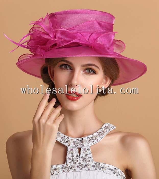 Купить Лето элегантный дамы органзы британский кентукки дерби шляпаи другие товары категории Шляпы городскиев магазине Victorian Dress | Prom Dress | Party Dress| Wedding DressнаAliExpress. шляпе пчел и панаму