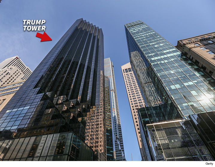 Donald Trump -- No-Fly Zone Over Trump Tower - http://blog.clairepeetz.com/donald-trump-no-fly-zone-over-trump-tower/