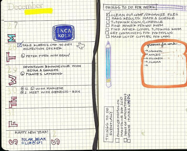I like this idea.  I could use something like this for my next life planner and also one for school.