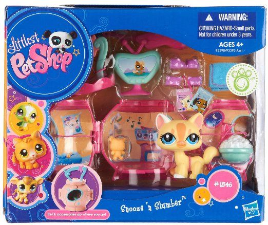 Amazon.com: Snooze N Slumber On The Go Mini Pet Carrier Littlest Pet Shop: Toys & Games