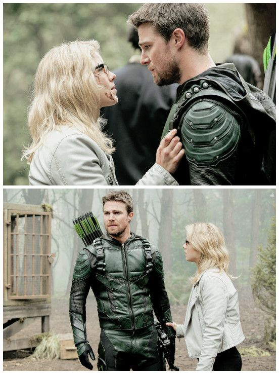 "#Arrow 5x23 ""Lian Yu"" - Oliver and Felicity"