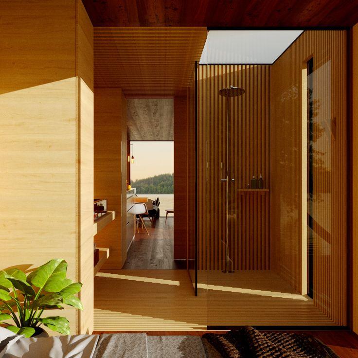 Salle De Bain Maxi Blok Habitat Prefabrique Architecture Contemporaine