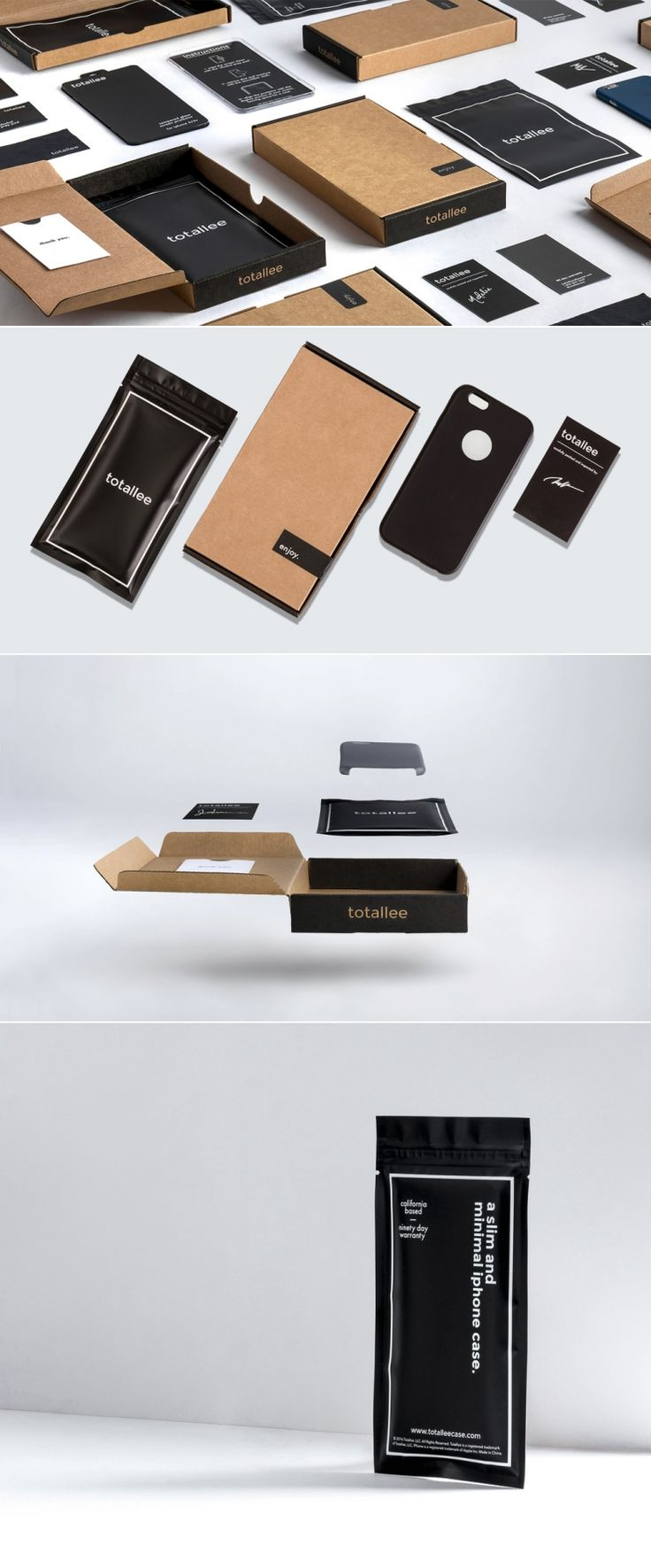 totallee — The Dieline - Branding & Packaging Design - created via https://pinthemall.net
