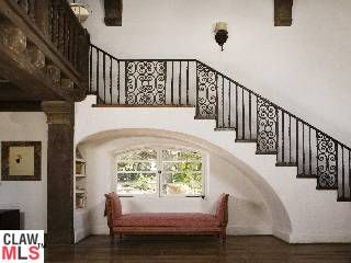 78 best mediterranean revival houses images on pinterest Ranch style staircase