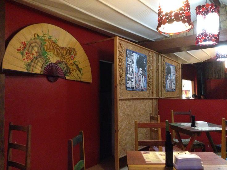 Ótimo Restaurante Japonês DECK - Jericoacoara - Fortaleza - Brasil