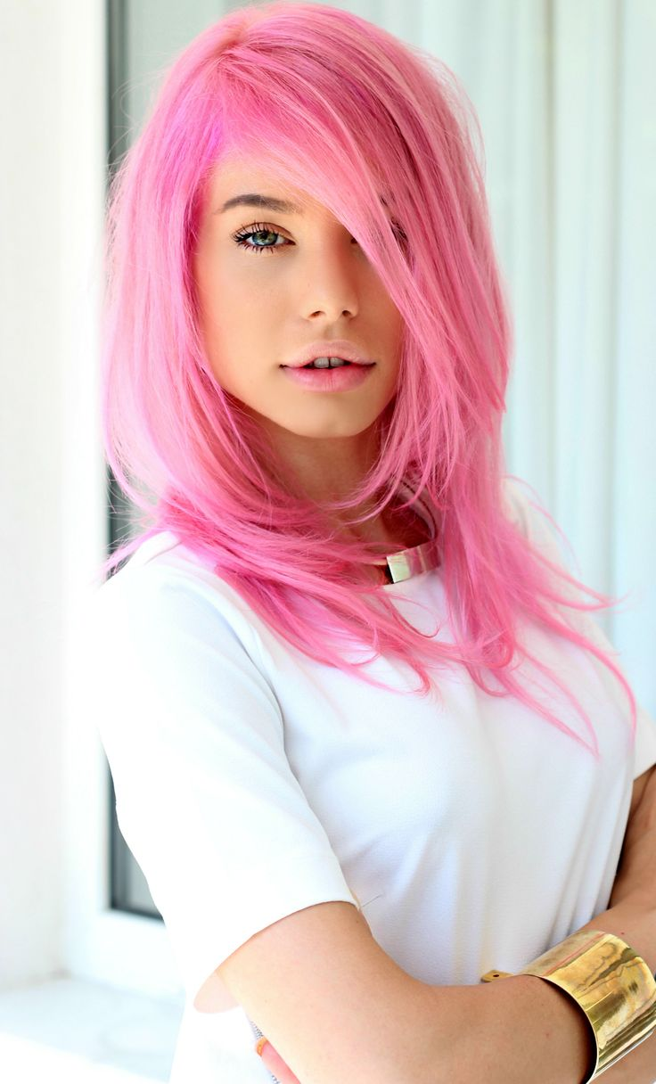 pink hair, new love