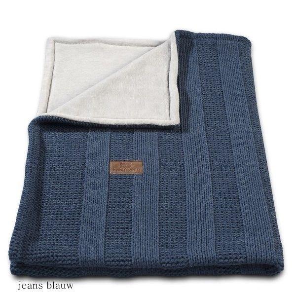 Baby's Only deken stoere rib jeans blauw! #deken #stoer #rib #baby #only #jeans #blauw