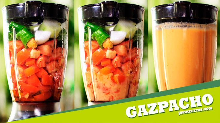 Si te guste el Gazpacho fresquito comparte este vídeo!!!  http://youtu.be/qlPbLc0aaoY