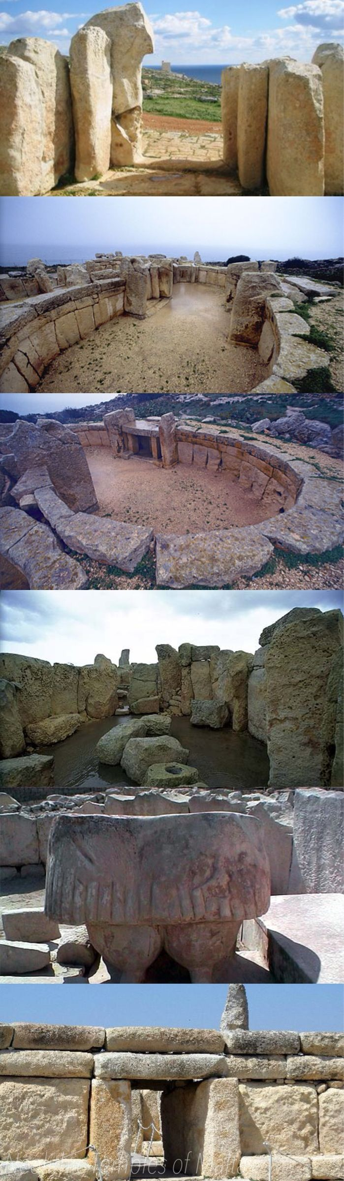 On the islands of Malta and nearby Gozo, the remains of 50 temples have been found, with 23 in various states of preservation. No particular pattern emerges from the distribution of these temples and this may be explained by the probability that numerous temples were destroyed in antiquity and that others remain to be discovered.