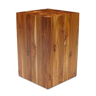 Teak Stool From DWR.com. Would Make A Great Side Table For Next To