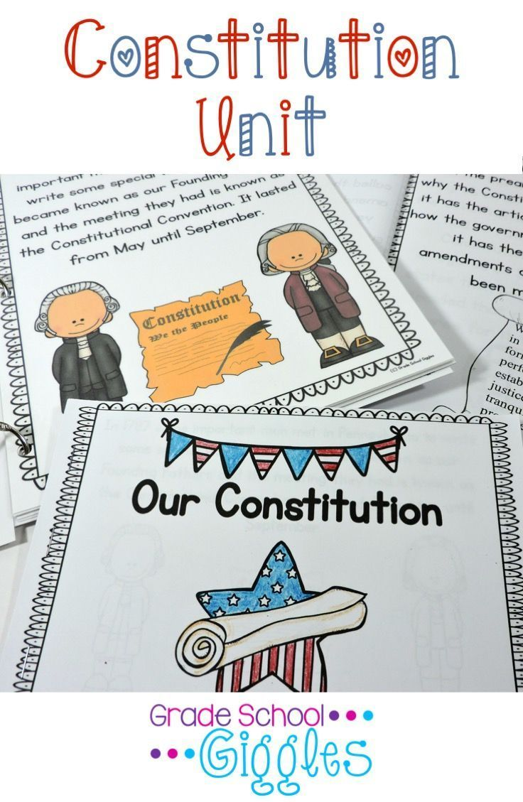 The Constitution is one of the most important documents in the United States. We even have a day specifically honoring it, Constitution Day, but do our students know exactly what the Constitution is? Do they understand why the Constitution was written or why it was important? Make it easy to fill your lesson plans with content driven activities with this unit. It's packed with reading passages, mini-books, a craftivity, posters, vocabulary cards, activities, a game, a puzzle, and more!