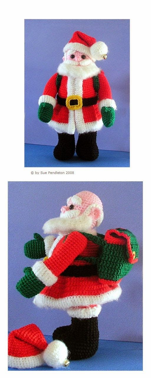 Amigurumi Joints : 172 best images about christmas on Pinterest Free ...