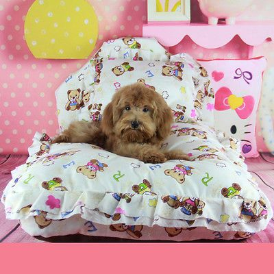 Dog-Cat-Bed-Soft-Warm-Puppy-Sofa-Couch-Mat-Kennel-Pad-Pet-Beds-GCg27-Bear-S