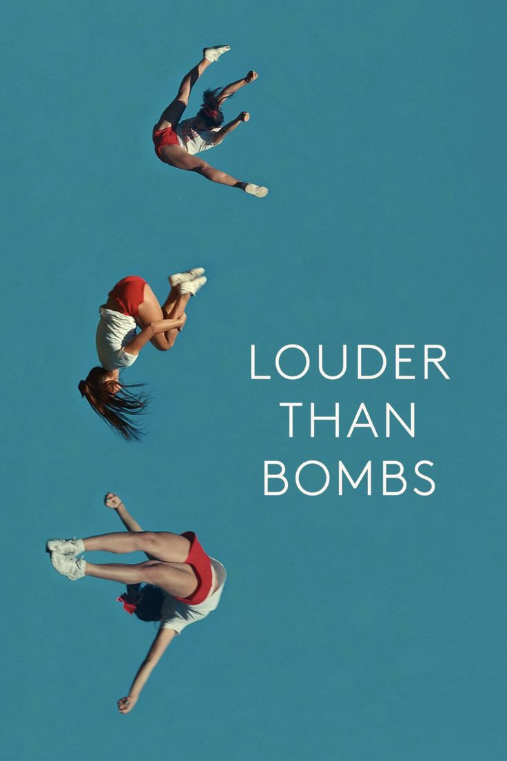 "Louder than Bombs - Movie Poster - Inspiration for the ""Follow the Leader"" Crowdstorm with Deutsche Bank: your pitch short film ideas that will accelerate digital innovation at the company: www.bit.ly/dbleaderpin"