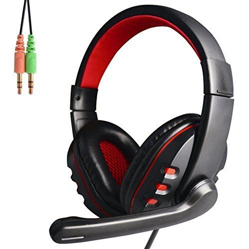 Specifications: Color: Black Type Headphones: Headband Connection: 3.5mm Wired Style: On-Ear General Use:Computer Features: Volume Control,Microphone Input(mm): 3.5 Sensitivity:-54dB±3dB Cable Length (cm): 200cm Frequency Response (Hz): 20~20K, Sensitivity (S.P.L): 115dB±3dB  Package Content: 1 x... more details available at https://perfect-gifts.bestselleroutlets.com/gifts-for-holidays/computers/product-review-for-game-headset-over-ear-headphone-wired-stereo-earphone-with-
