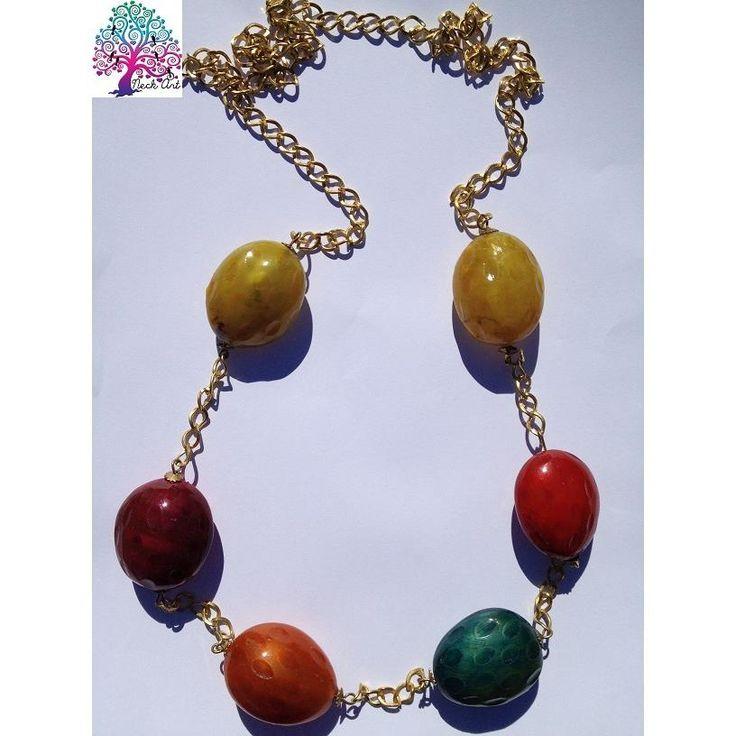 $20 Chunky Beaded Necklace by NeckArt on Handmade Australia