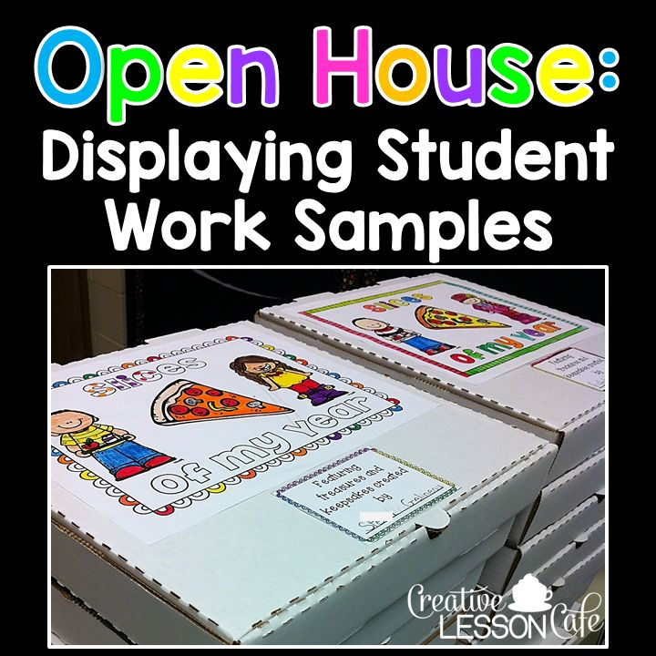 Creative Lesson Cafe: Open House Ideas for Teachers: Weekend Warriors