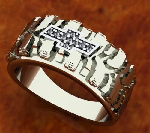 Chevy Wedding Ring Chevy Girl Pinterest Chevy