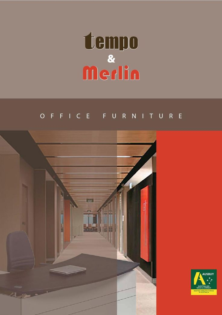 Tempo and merlin office furniture brochure