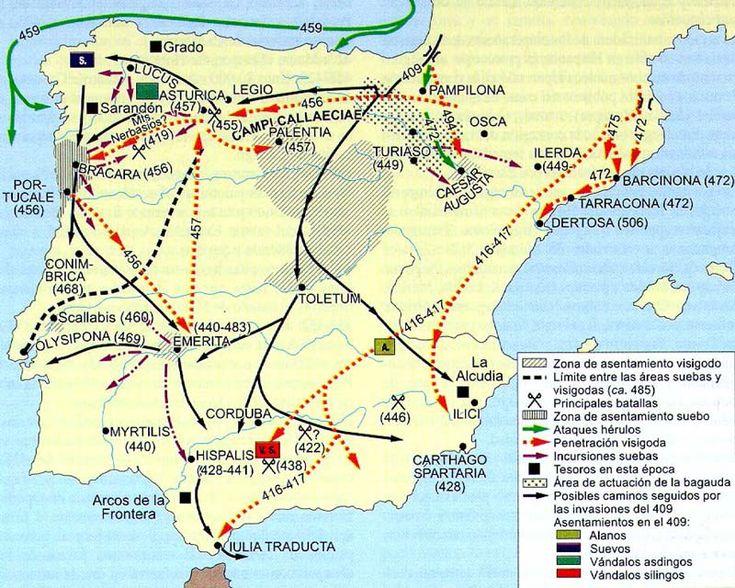 La invasión de Hispania