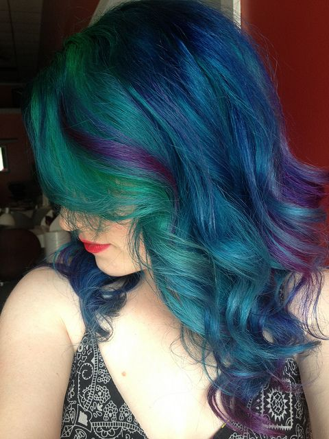 by Ugg-Off, She has such beautiful, colorful hair...
