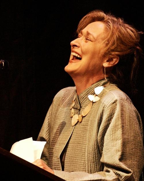 Meryl  always laughing