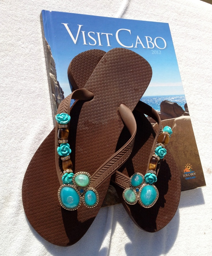 Turquoise and Caicos  by Flipinista™* Flipinista ™ are designed and crafted by hand and available at select boutiques throughout the country. For info email info@flipinista.com  * please do NOT pin on a DIY , ideas or arts and crafts board, all pictures are the legal property of Flipinista™ a TRADEMARK BRAND