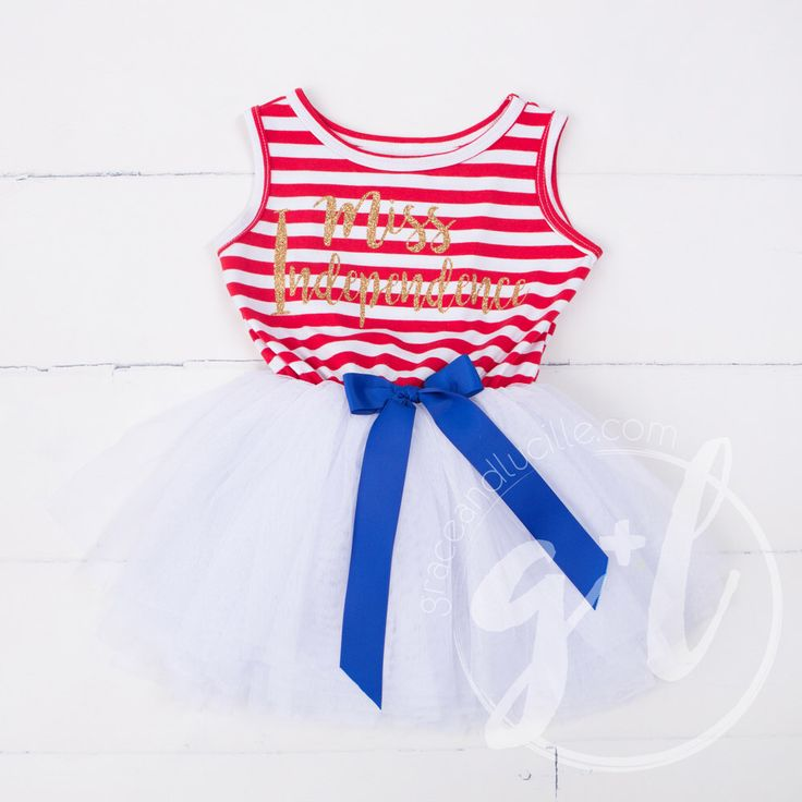 Fourth of July dress, First 4th of July Outfit,  4th of July outfit 4th of July Dress, Red White and Blue, Miss Independence by GraceandLucille on Etsy https://www.etsy.com/listing/398719501/fourth-of-july-dress-first-4th-of-july