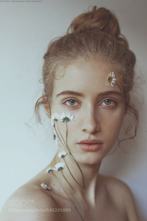 portrait of Mathilda by martabevacquaphotography