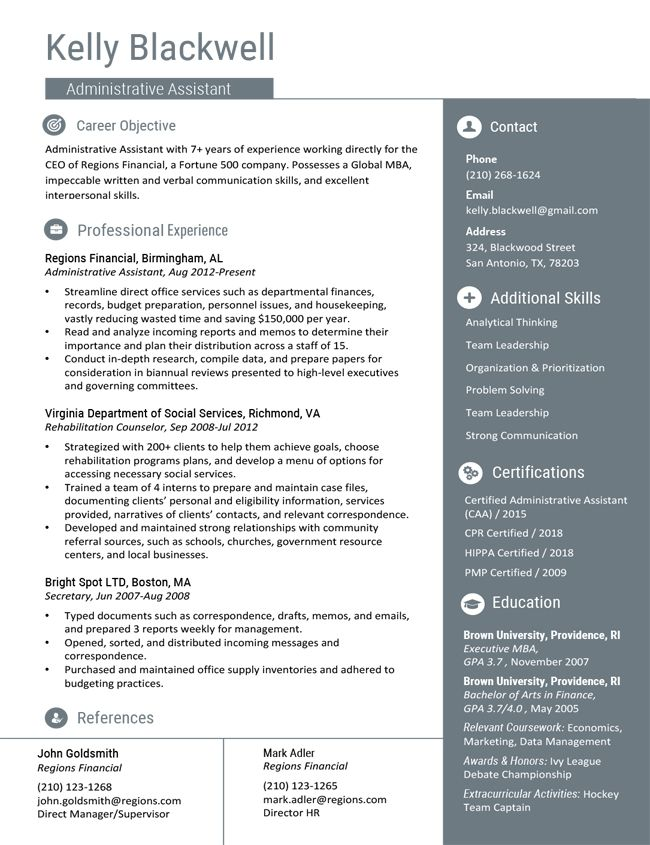 Professional Resume Templates Free Microsoft Word Download Executive Resume Template Resume Template Professional Resume Template