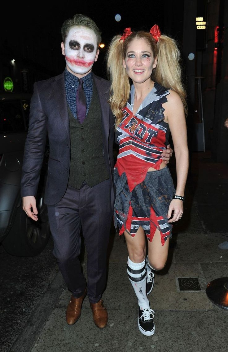 Alfie Browne-Sykes, Amanda Clapham arrive as Stars from 'Hollyoaks' dress up for the Hollyoaks Halloween Party at Wonderland in Liverpool, UK