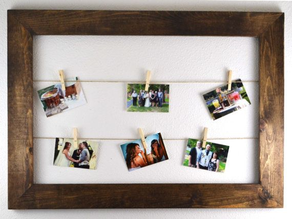 Hey, I found this really awesome Etsy listing at https://www.etsy.com/listing/215329933/rustic-clothesline-picture-frame-gift