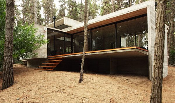 The house that concrete built - Besonías Almeida arquitectos