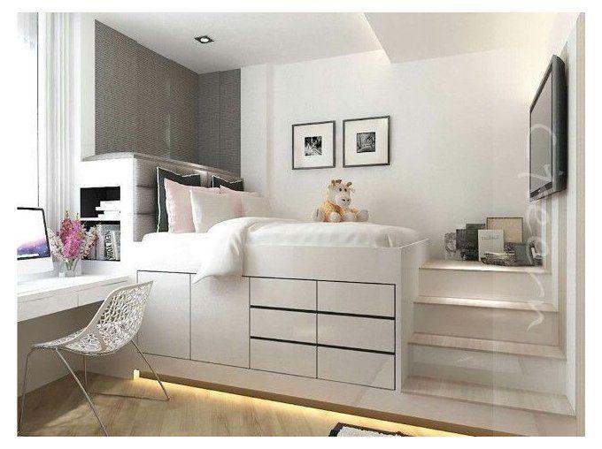 Wayfair Bedroom Furniture Platform Beds Wayfairbedroomfurnitureplatformbeds In 2021 Small Bedroom Layout Small Bedroom Decor Tiny Bedroom Design