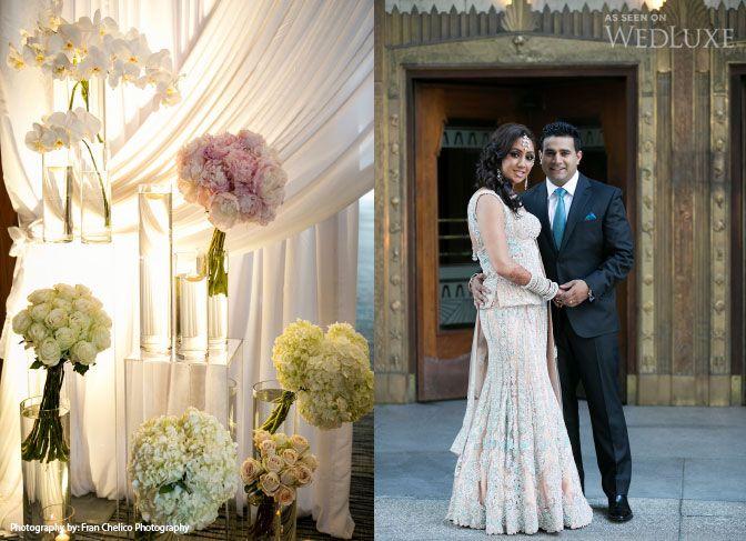 True Love, True Luxury: Sabrina & Allen | WedLuxe Magazine