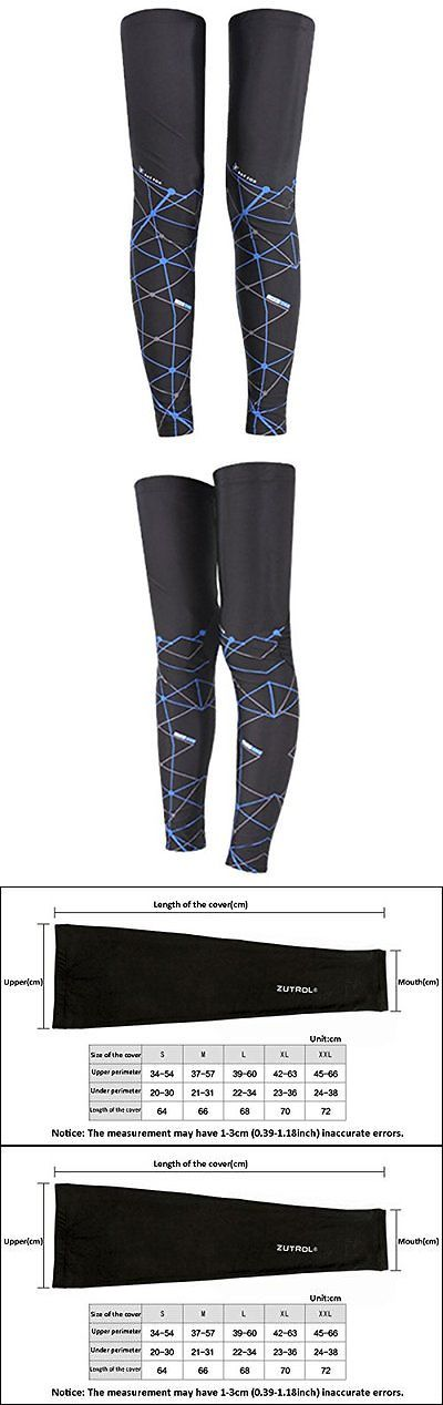Protective Gear 158969: Panegy Sunscreen Compression Leg Long Sleeves Sunproof Leg Guard Best For Man BUY IT NOW ONLY: $32.71