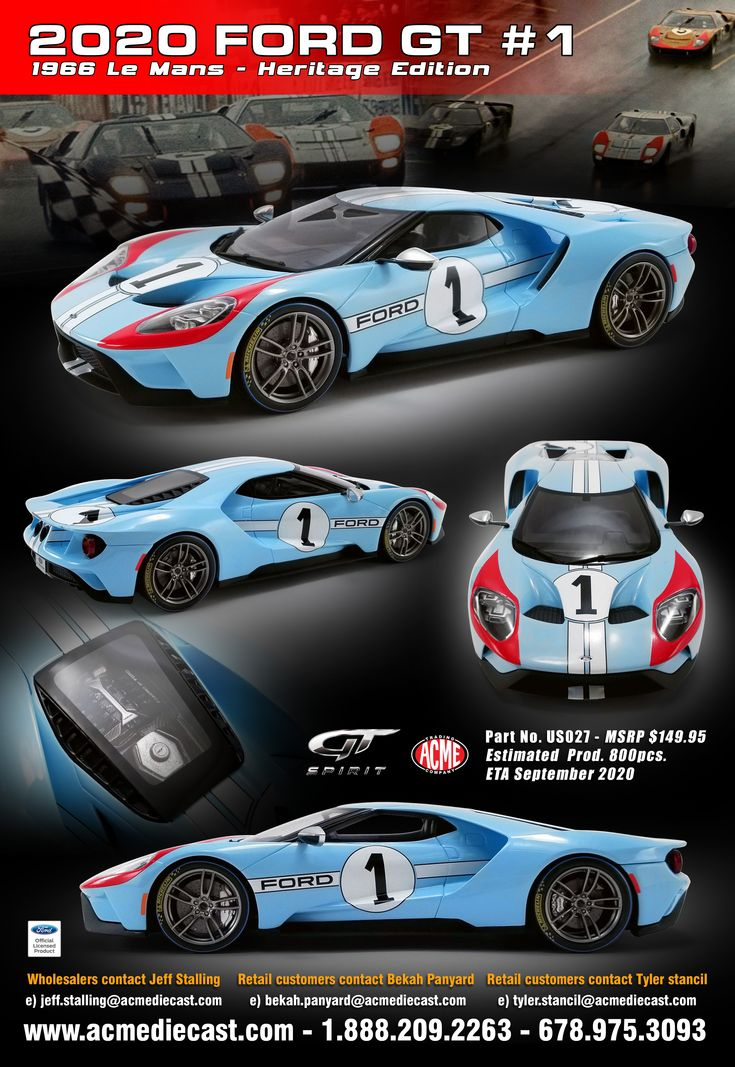 2020 Ford Gt 1 1966 Le Mans Heritage Edition Ford Gt Ford Gt40 Ford Racing