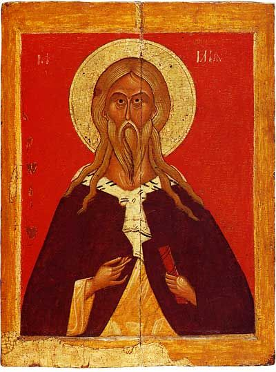 The Prophet Elijah Novgorod Late 14th—early 15th centuries The Tretyakov Gallery, Moscow, Russia