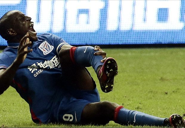 Demba Ba's broken leg X-ray revealed