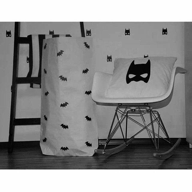 Batman paperbag and pillowcases