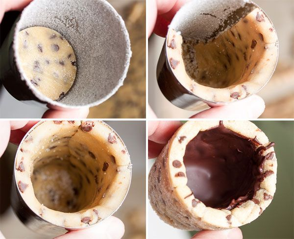 How to make homemade cookie shot glasses – the perfect way to have your milk & cookies!