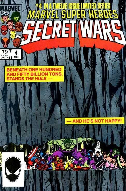 Marvel Super Heroes Secret Wars #4 - Situation: Hopeless
