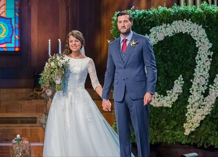 Mr. & Mrs. Vuolo! #JingerAndJeremySayIDo #CountingOn