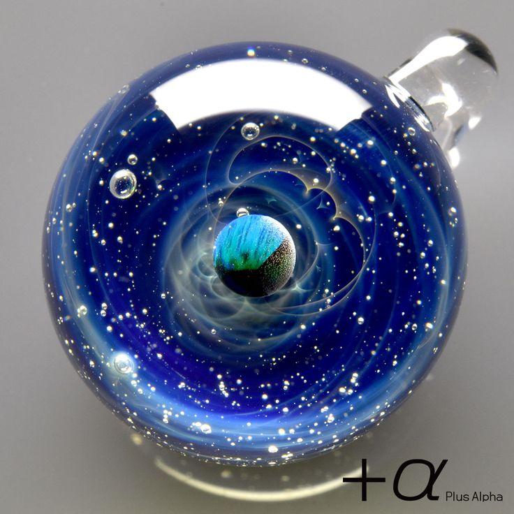 [+α [プラスアルファ] | 宇宙ガラス | Webshop]宇宙ガラス-ブラックオパール